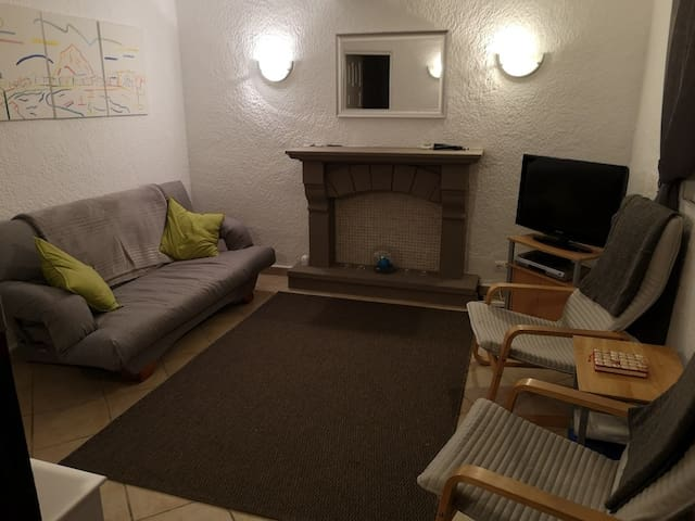 Newly refurbished living room/sofabed