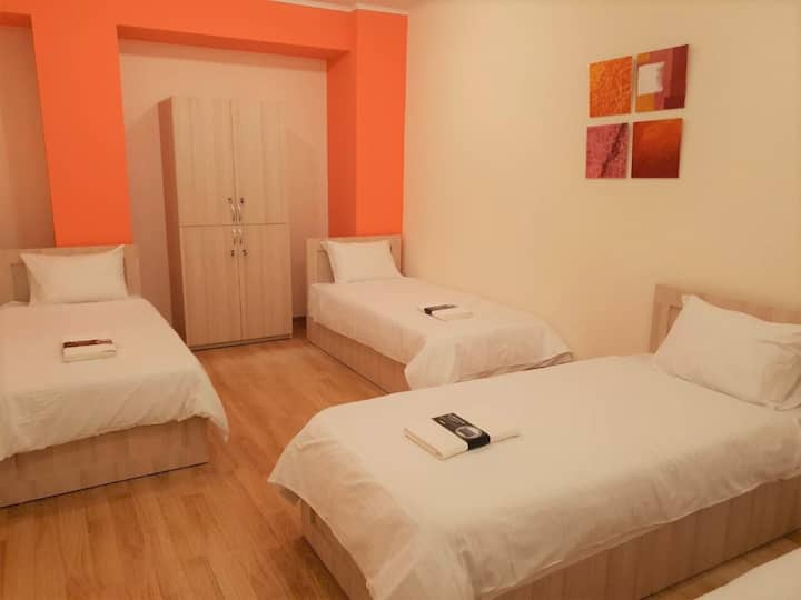 Hostel 'Carrot', private room