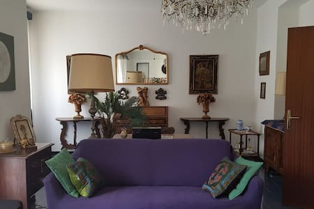 Cozy apt. in peaceful, historical Varese Ligure
