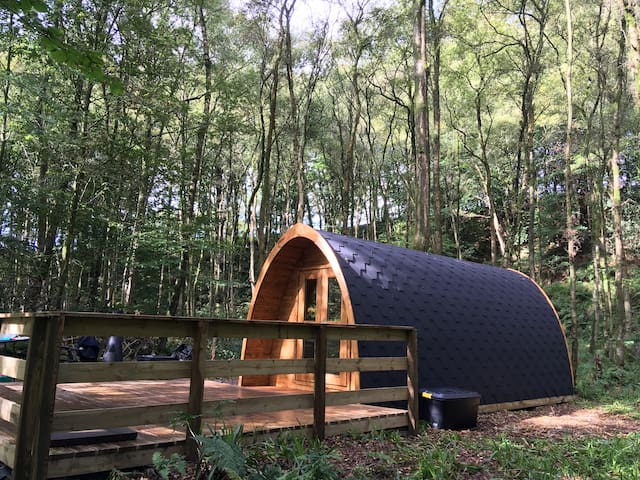 Broomhills Farm River Eco Family Pod