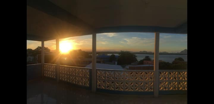 Vista paradisíaca  permanente