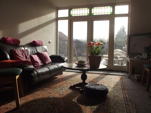 Private bedroom close to University - Bunnik