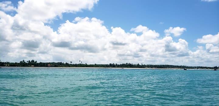 Casa GUAJURU. Beira mar,rota ecológica de Milagres
