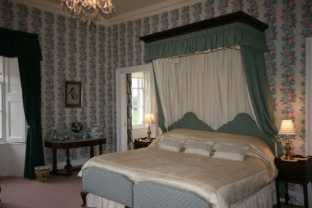 The Blue Bedroom with SuperKing size Bed