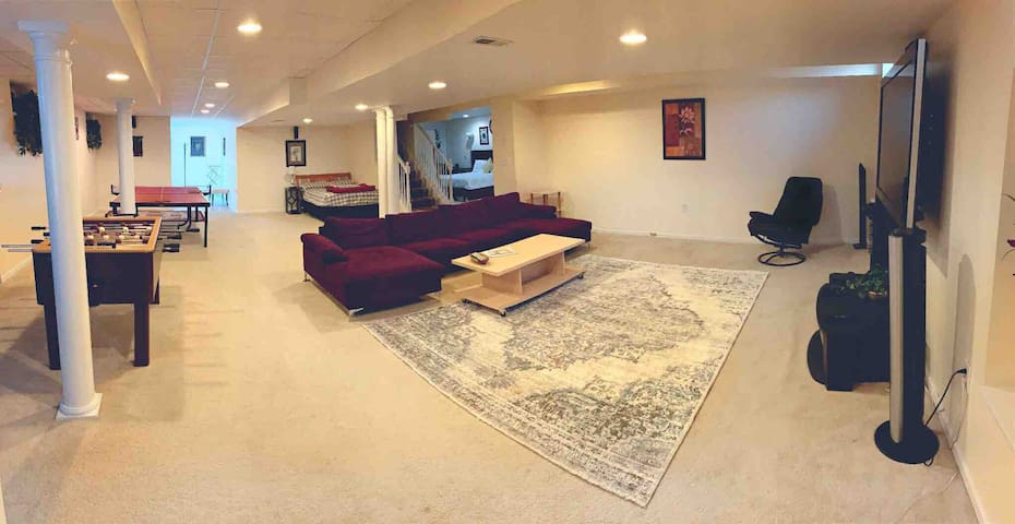 Full view of your spacious living room