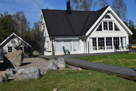 Havsnära boende, ca 150 m2, Långvind.
