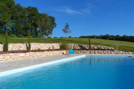 Romantic farmhouse gite for two, stunning location - Labastide-Paumès - Apartmen