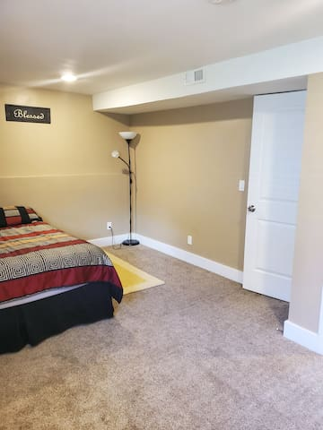 Big, clean and comfortable bedroom!