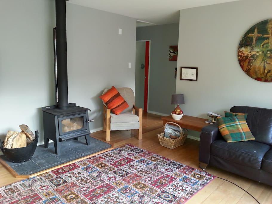 Warm sunny living area