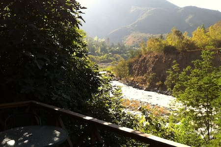 2BR ESCAPE TO MOUNTAINS, 90 min SCL - San José de Maipo