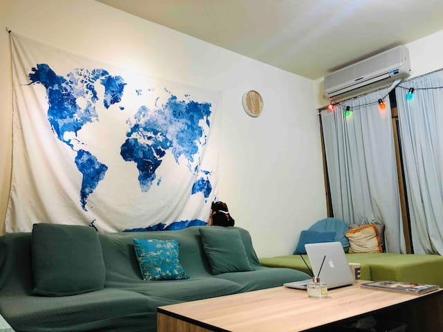 Couchsurfing, more easy to know the beauty of TPE