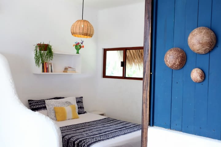 3 min from the beach, bright & cozy studio - Puerto Escondido - Apartment