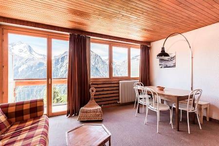 Grd Studio 34 m2, balcon sud, magnifique vue 5° ét - Les 2 Alpes - Appartement
