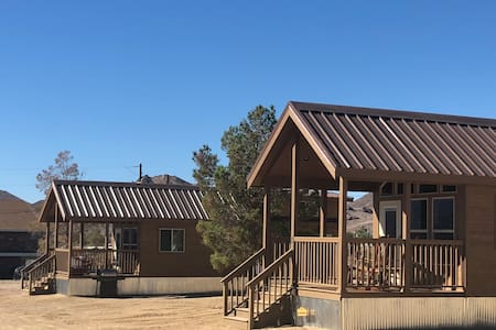 Wild West 1 + 2  - Death Valley Getaway Cabins