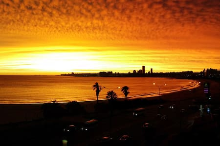 Apartment in front of the beach - Montevideo
