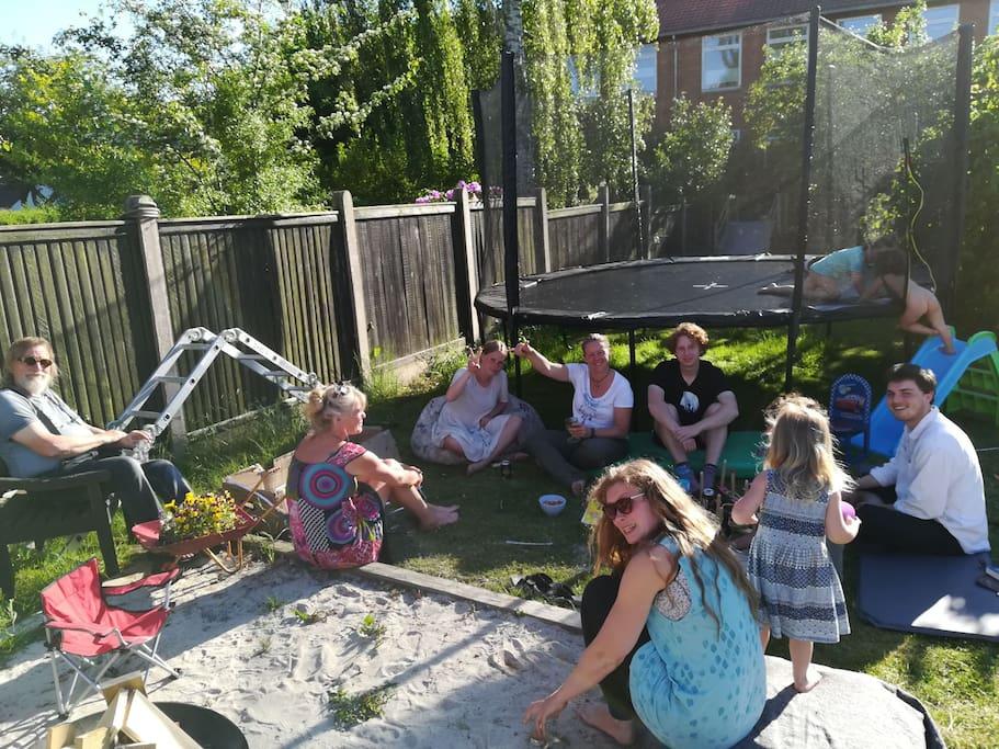 garden hangout