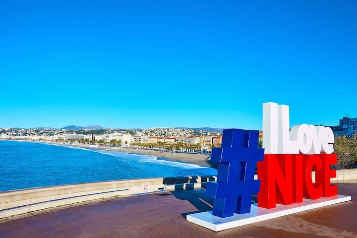 Aloa Promenade des Anglais   Loft face a la mer