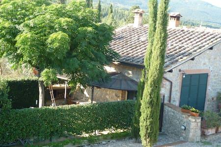 piccolo rustico toscano - Sovicille (Siena)