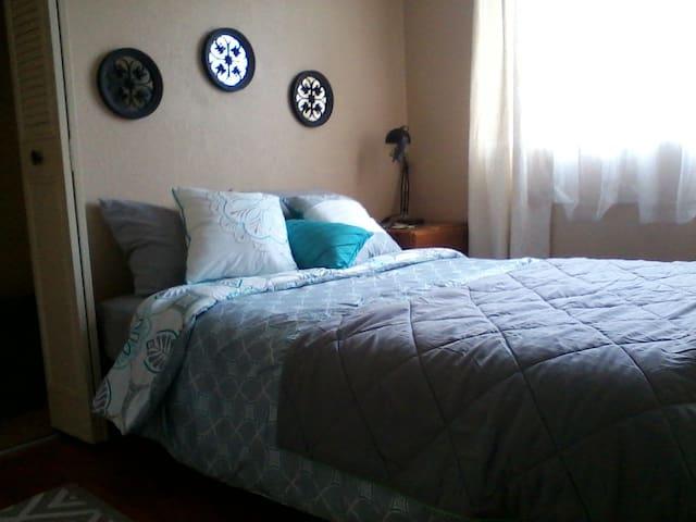 Private Room in a Scenic Coastal Home - Daly City - Hus