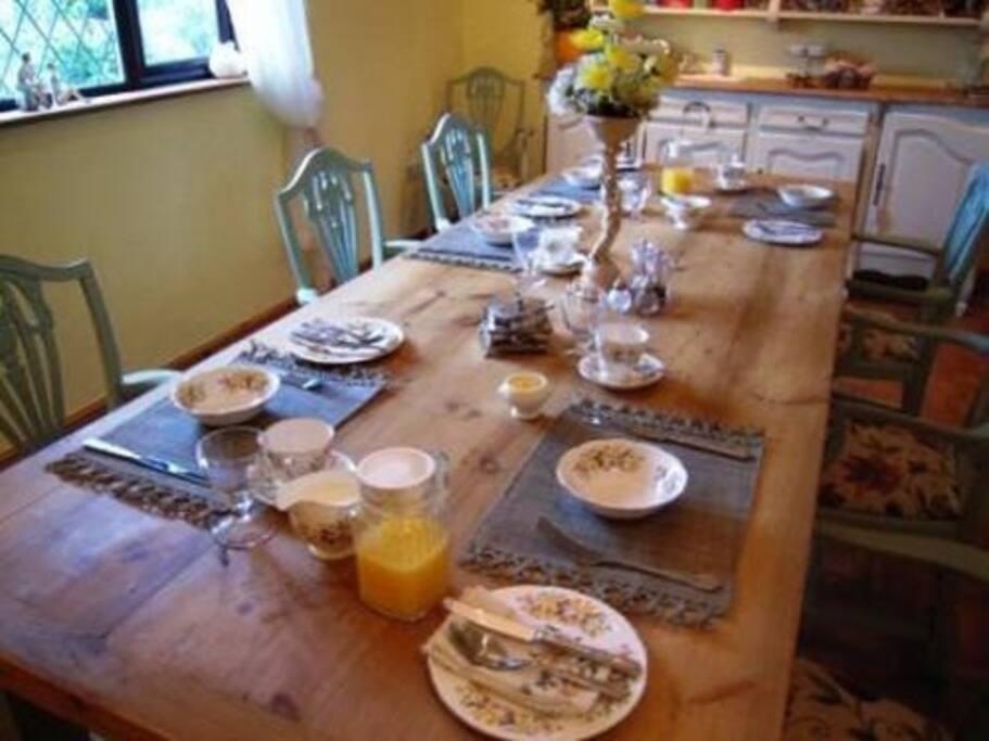 Dining room/Restaurant
