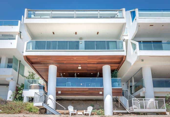 Oceanfront Malibu Beach House