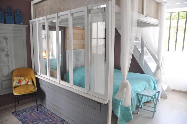 Nice bedroom close to train-station - Nantes - Casa