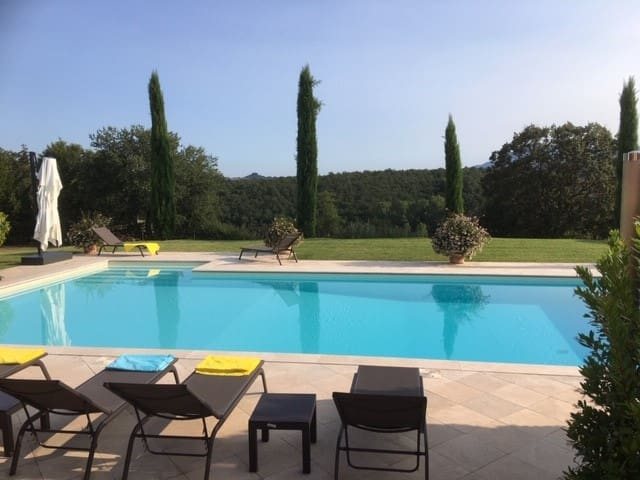 Private House with views + Pool near Montepulciano