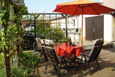 Ferienunterkunft Heringsdorf 28qm strandnah sonnig - Apartment