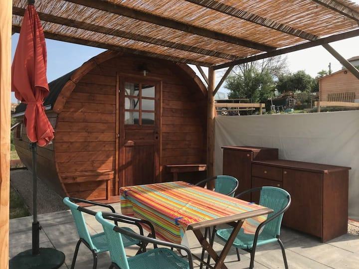 GLAMPING bij Casa Cologna,  Cologna Paese, Abruzzo
