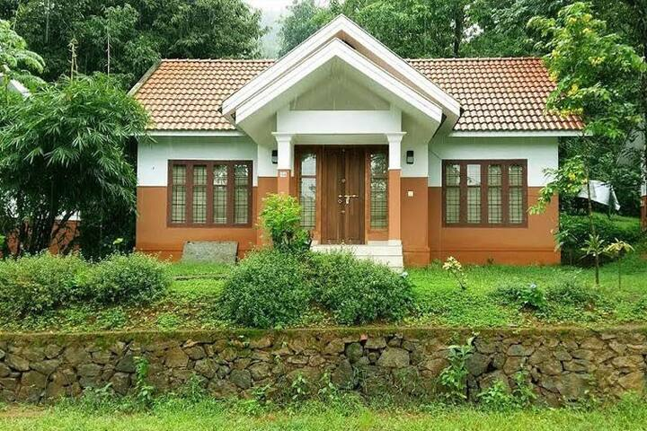 Garden view villas in Misty Vythiri - Vythiri