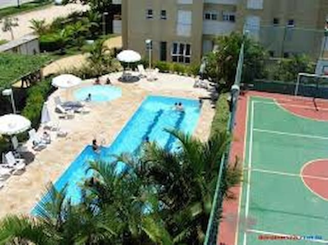 Apt near the beach (only 1h30 from Sao Paulo)