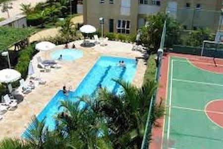Apto a 500mts2 da praia de São Lourenço - Bertioga - Wohnung