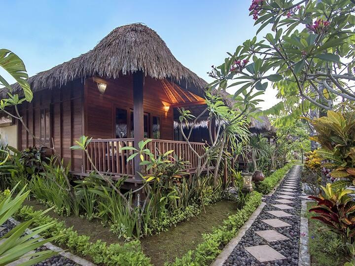 1 Bedroom Wooden House at Mushroom Garden Villas