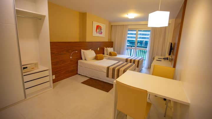 Lindo apart-hotel no centro de Brasília. Ed Vision