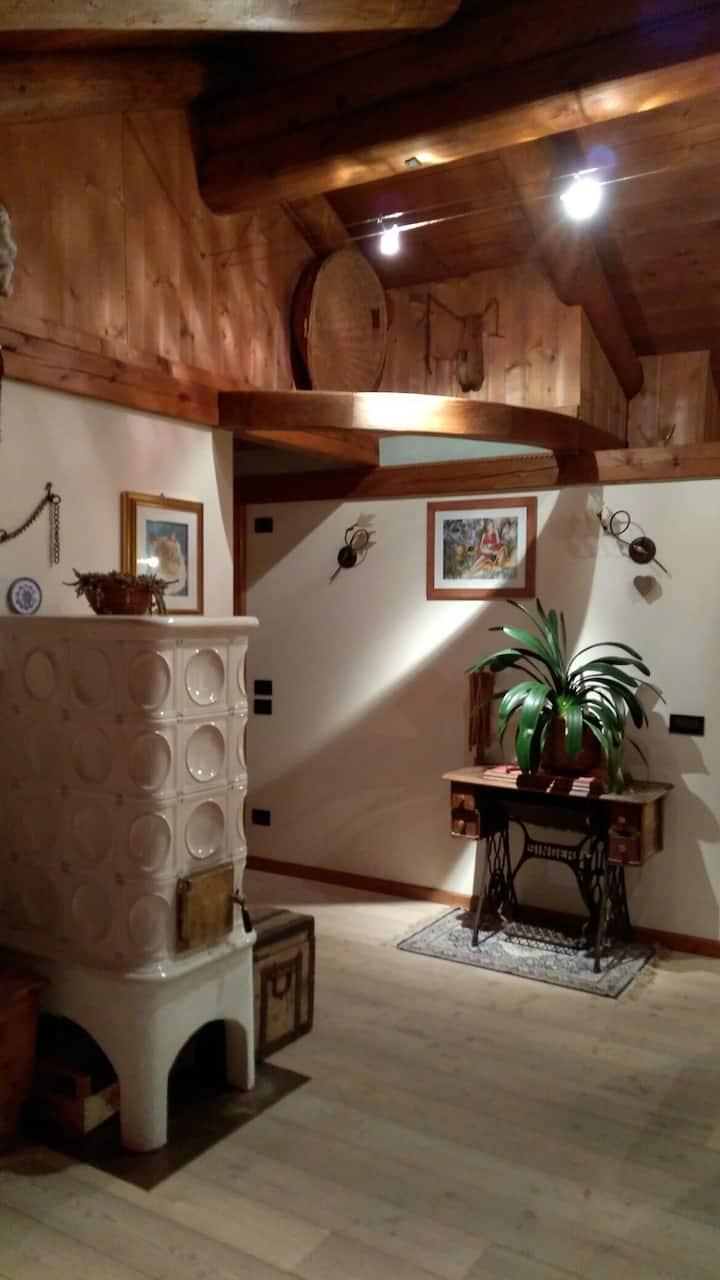 Mansarda  luminosa-San Vito-Cortina d'Ampezzo