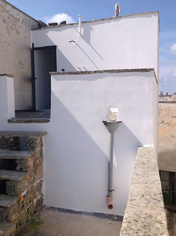Great and original roof terrace