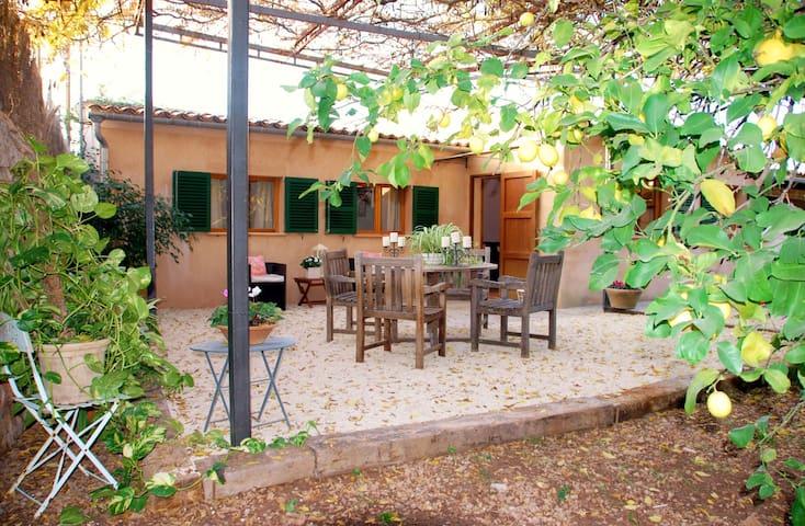 Coqueta casa con jardín - Sóller - Huis