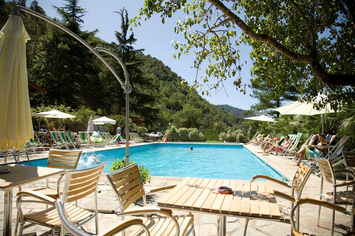 Mobile Home - Camping Delle Rose - Isolabona - 平房