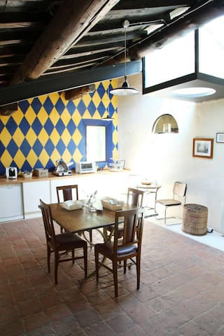 Ancient italian country house - Suzzara - Pousada