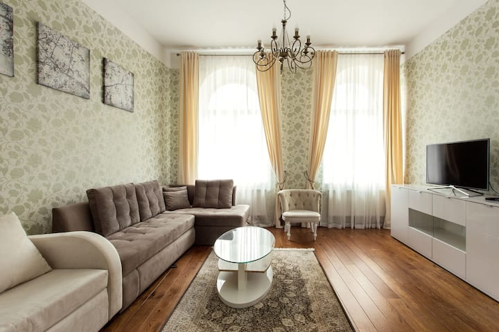 #Apartment in Old Town + Free parking