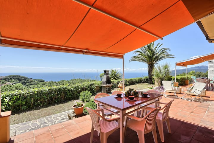Apartment with sea view - Villa Soprana Trilo B