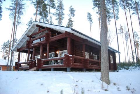 Villa Nestori Saimaan rannalla