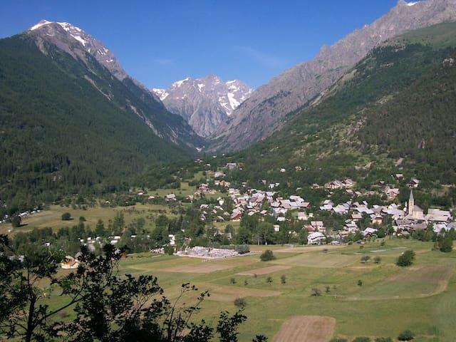 Chalet MANALI vue panoramique sur la Vallouise - Vallouise