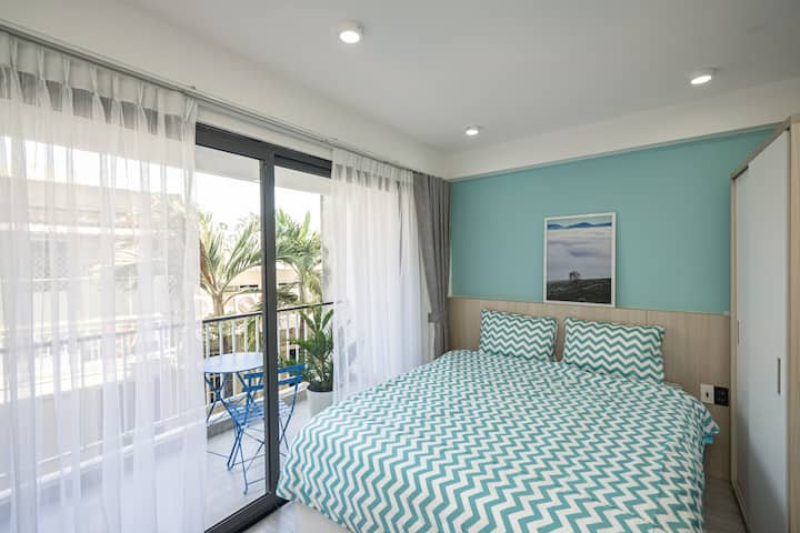 NamAn Stay 1BR-Near Airport- Free Cleaning Fee1