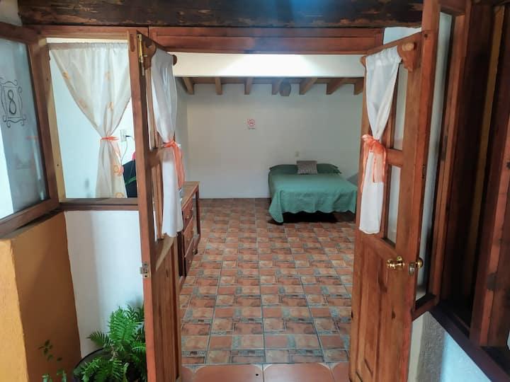 Cómoda Habitación  Familiar Centro Valle de Bravo