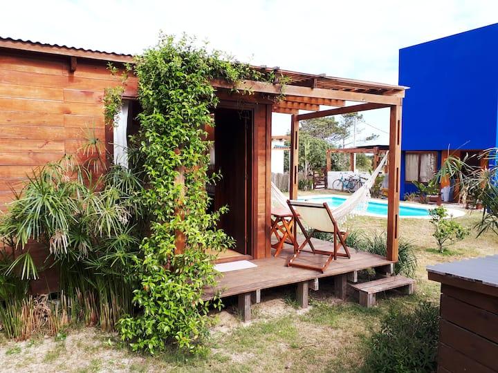 El Jardin de Majorelle:Cabaña El Cotorro