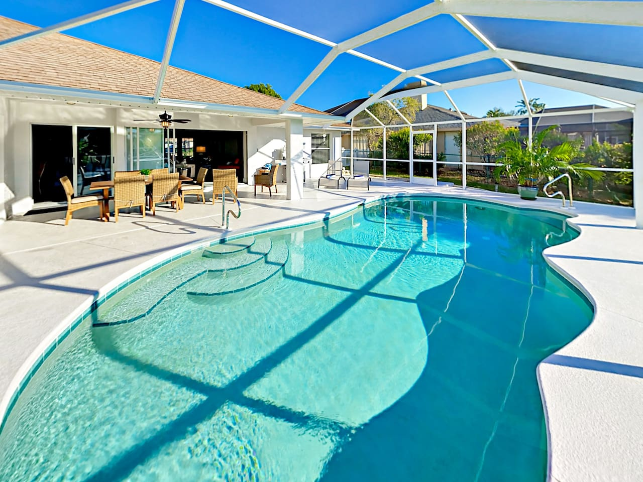 Welcome to Cape Coral! Your rental is professionally managed by TurnKey Vacation Rentals.