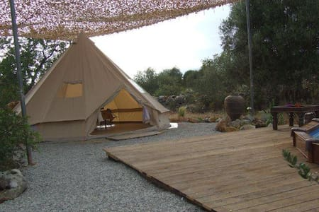 African Glamping tent - Moncarapacho