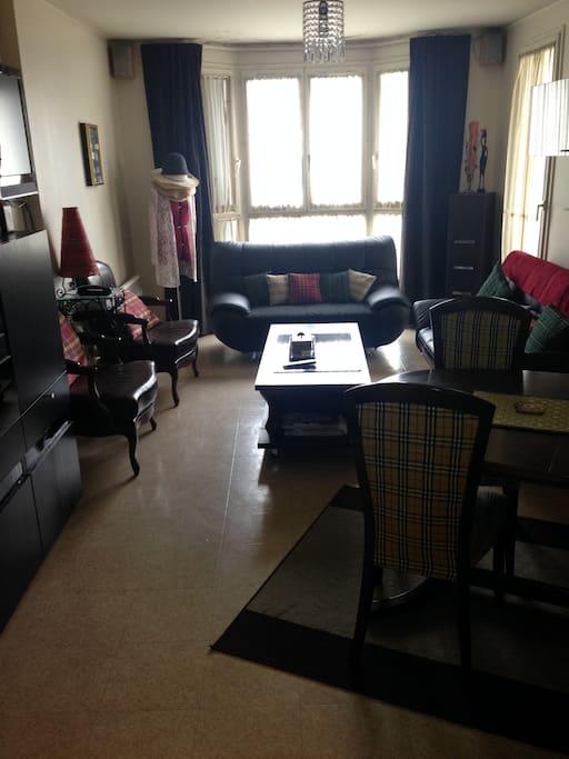 Chambre ensoleill e calme appartements en r sidence for Chambre calme en anglais