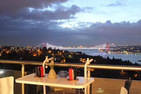 A Bosphorus View 1 BD Apt. in Uskudar